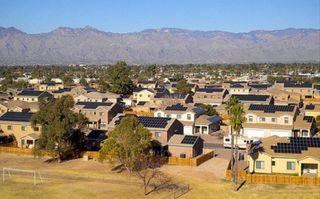 Military solar homes
